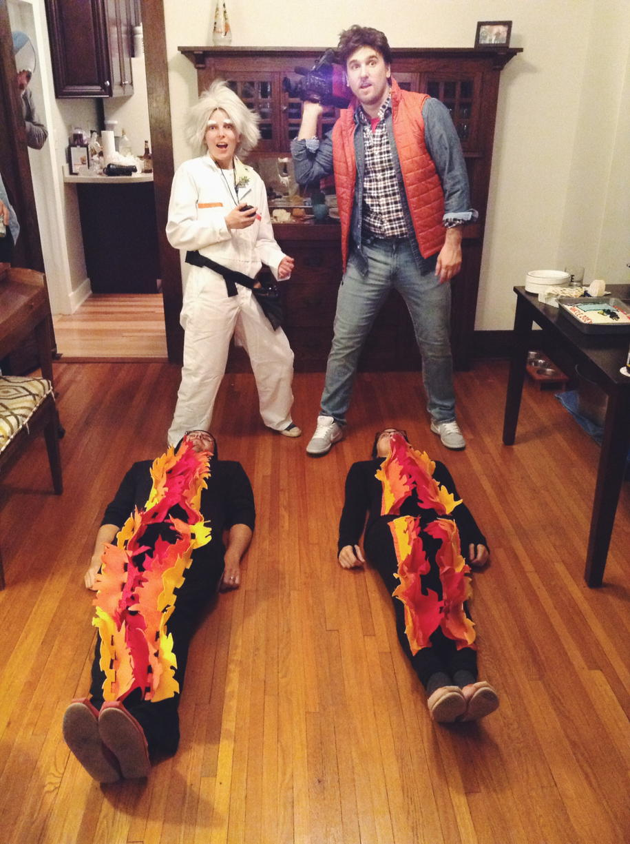 Cosplay Back to the Future