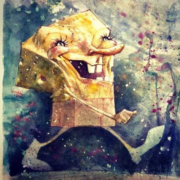 bizarre-weird-spongebob-fan-art-18