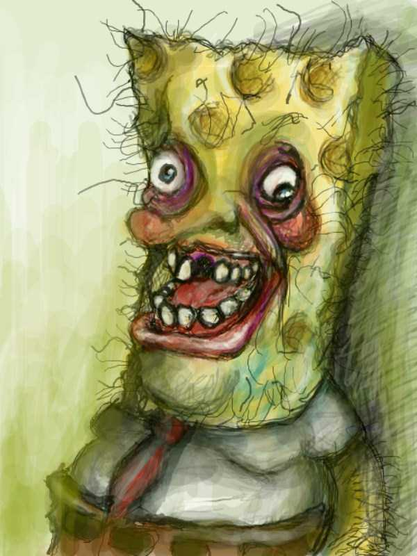 bizarre-weird-spongebob-fan-art-2