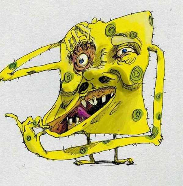 bizarre-weird-spongebob-fan-art-3